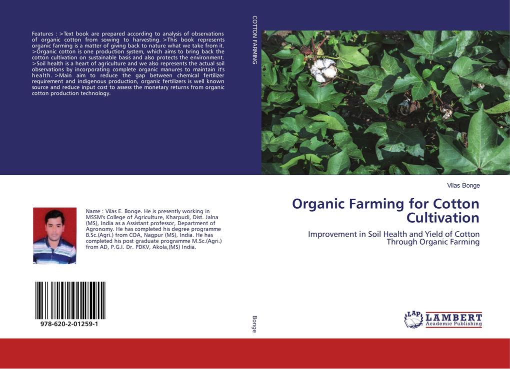 Organic Farming for Cotton Cultivation als Buch...