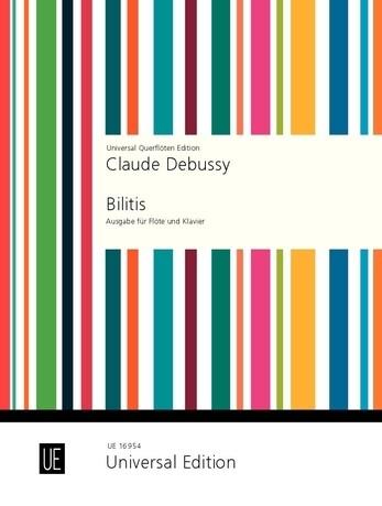 Bilitis als Buch von Claude Debussy