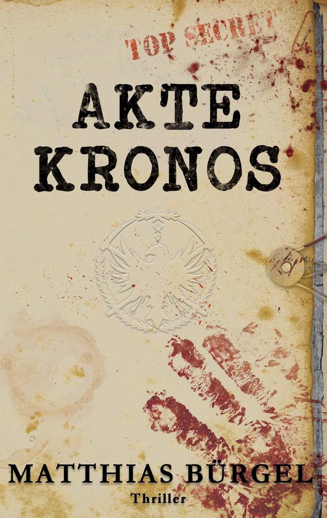 Akte Kronos als Buch