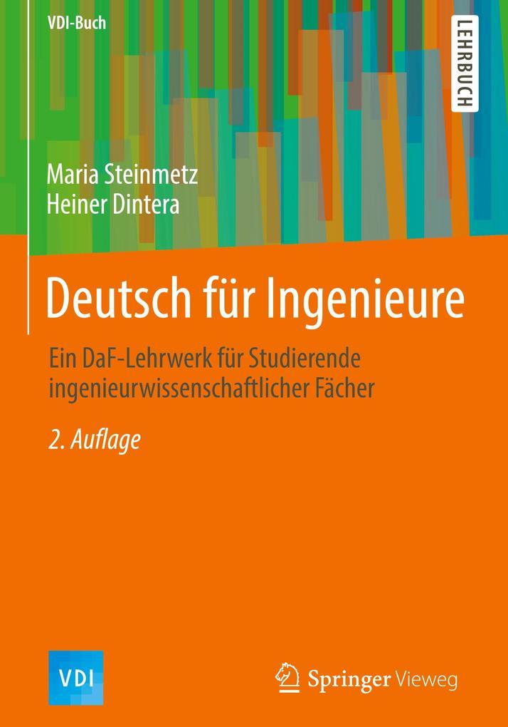 Deutsch für Ingenieure als Buch von Maria Stein...