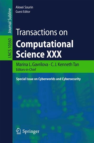 Transactions on Computational Science XXX als B...