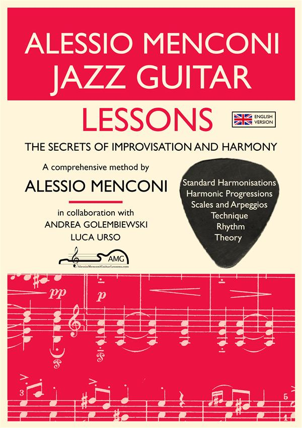 Jazz Guitar Lessons als eBook Download von Ales...