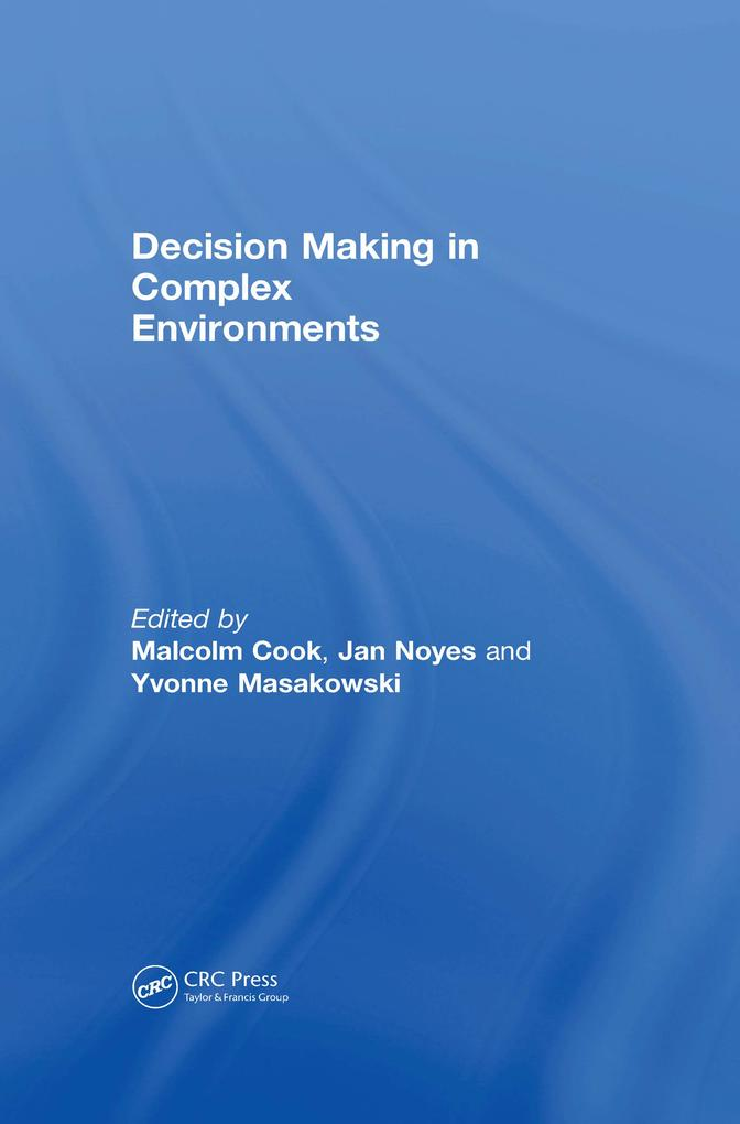 Decision Making in Complex Environments als eBo...