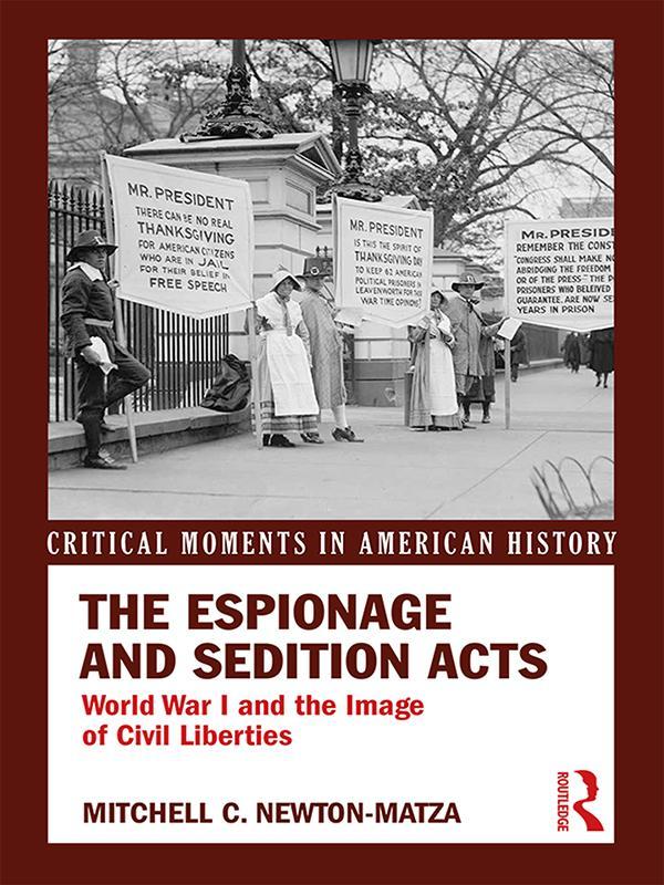 Espionage and Sedition Acts als eBook Download ...