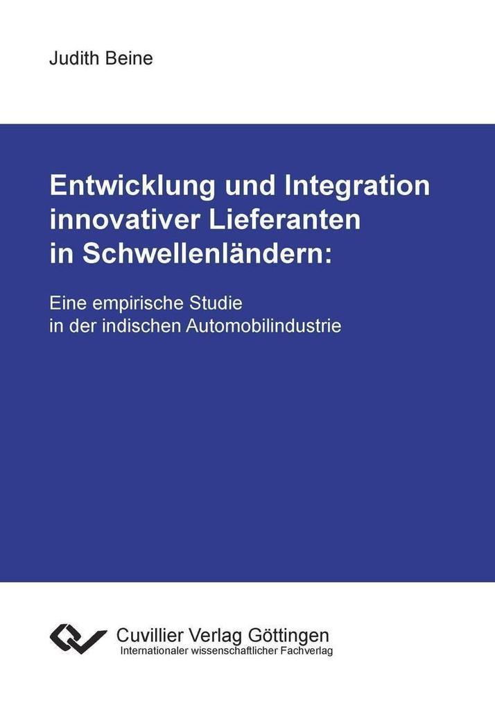 Entwicklung und Integration innovativer Liefera...