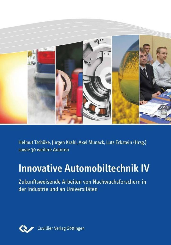 Innovative Automobiltechnik IV als eBook Downlo...