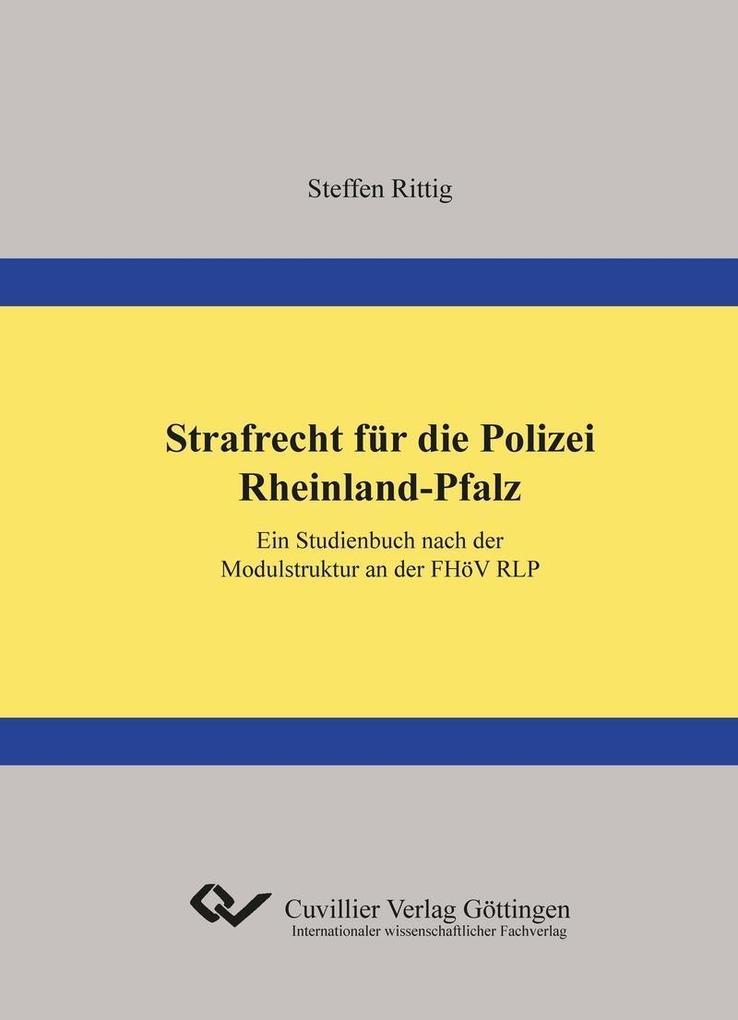 Strafrecht für die Polizei Rheinland-Pfalz als ...