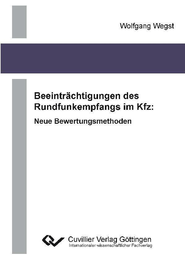 Beeinträchtigungen des Rundfunkempfangs im Kfz:...
