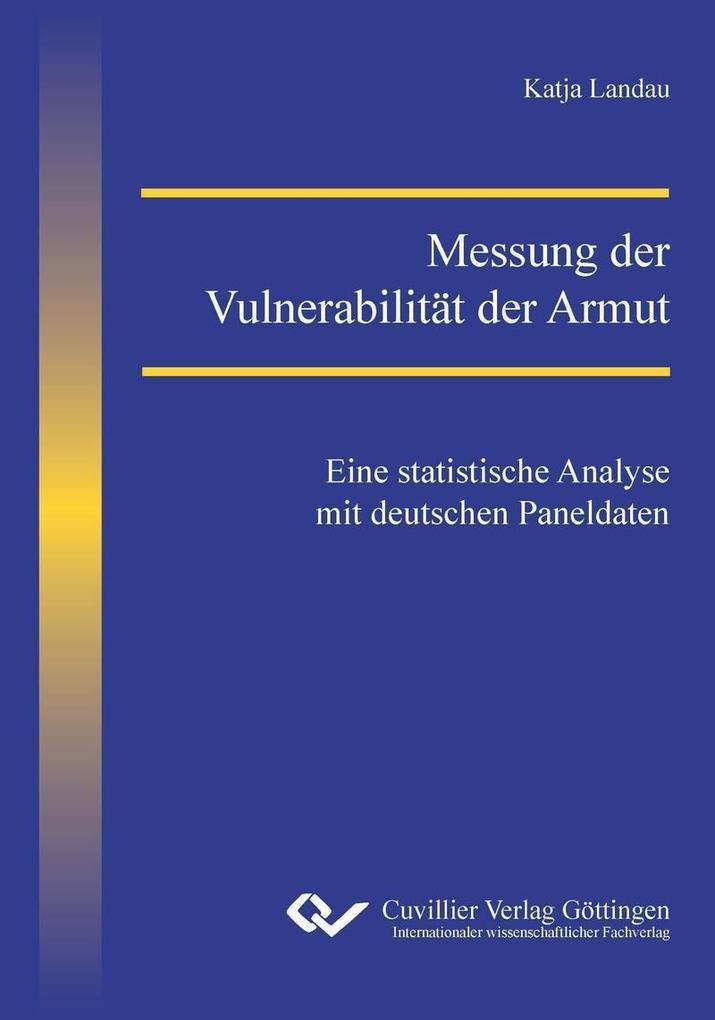 Messung der Vulnerabilität der Armut als eBook ...