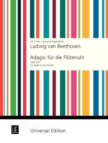 Adagio für die Flötenuhr als Buch von Ludwig Va...