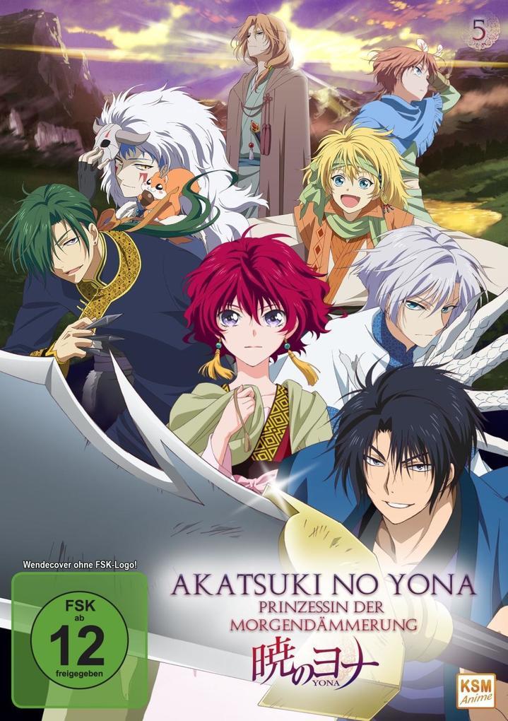 Akatsuki no Yona - Prinzessin der Morgendämmerung - Volume 5: Episode 21-24 als DVD