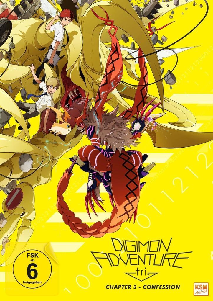 Digimon Adventure tri. - Chapter 3 - Confession als DVD