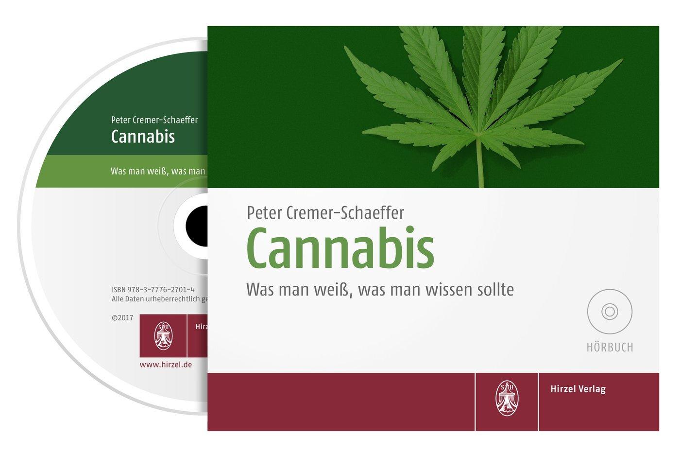 Cannabis als Hörbuch CD von Peter Cremer-Schaeffer