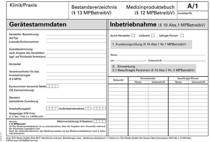 medizinproduktebuch bestandsverzeichnis spielwaren rolf dieter b ckmann. Black Bedroom Furniture Sets. Home Design Ideas