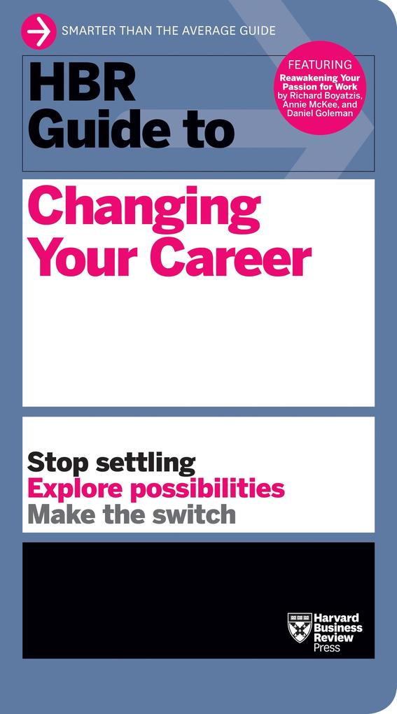 HBR Guide to Changing Your Career als Buch von