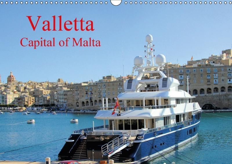 Valletta Capital of Malta (Wall Calendar 2018 D...
