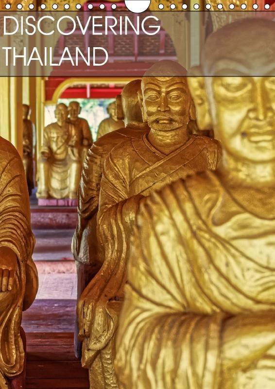 Discovering Thailand (Wall Calendar 2018 DIN A4...
