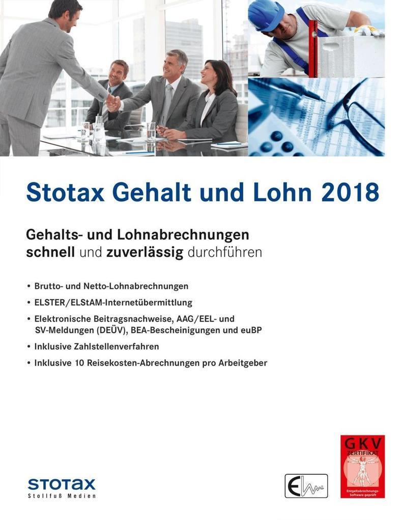 Stotax Gehalt und Lohn 2018