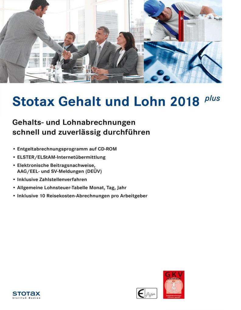 Stotax Gehalt und Lohn Plus 2018