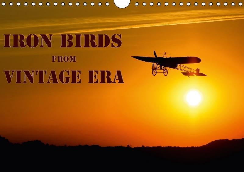 Iron birds from vintage era (Wall Calendar 2018...