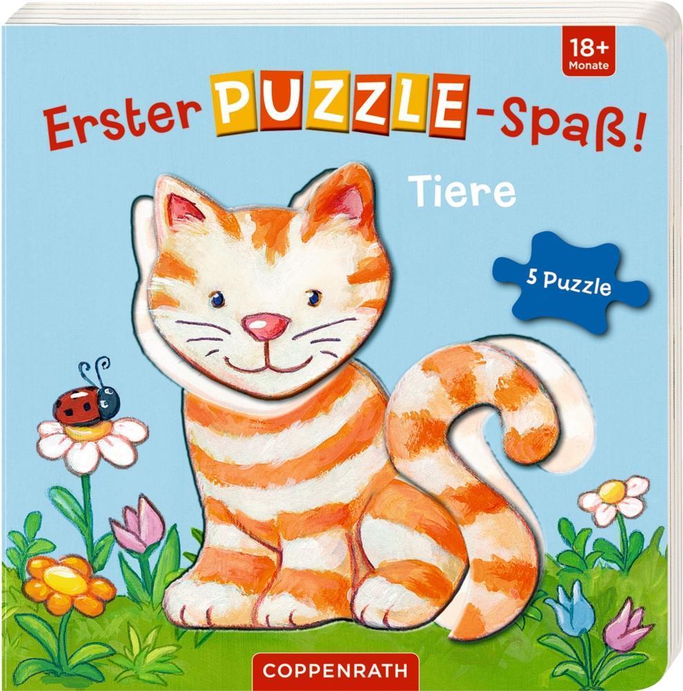 Erster Puzzle-Spaß! Tiere als Buch