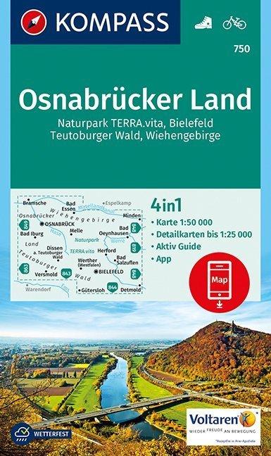 Osnabrücker Land 1:50 000 als Buch von