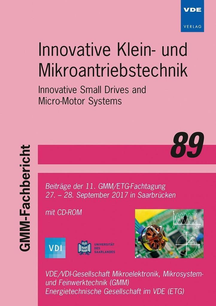 GMM-Fb. 89: Innovative Klein- und Mikroantriebs...