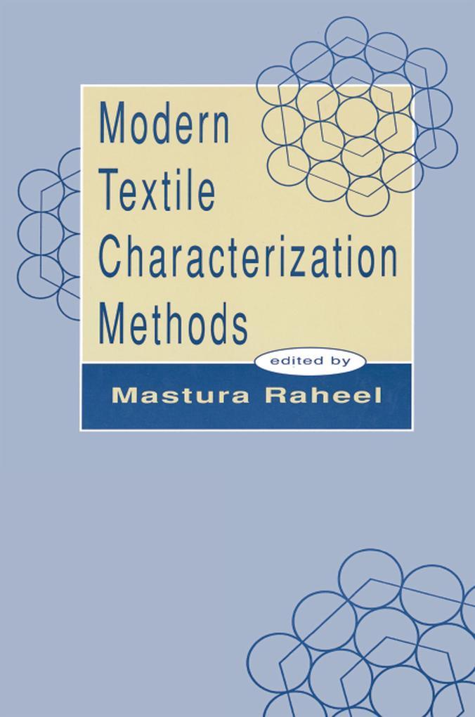 Modern Textile Characterization Methods als eBo...