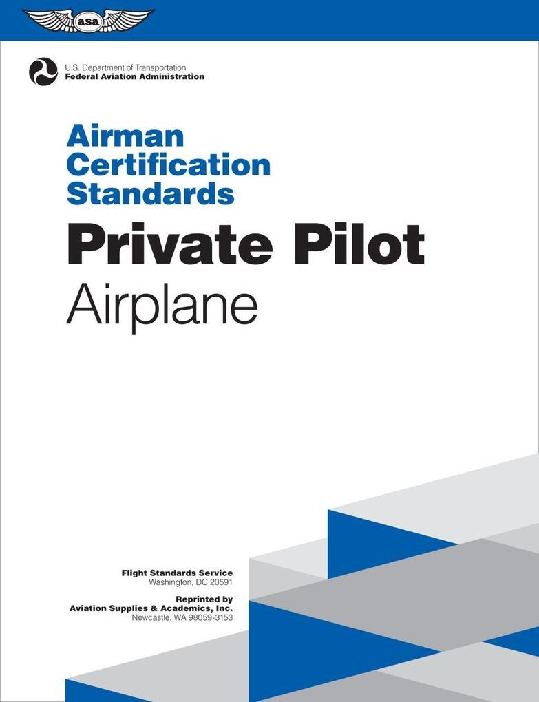 Private Pilot Airman Certification Standards - ...