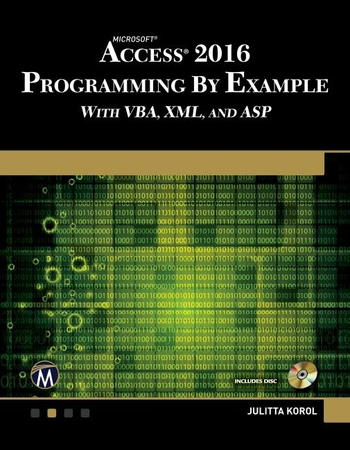 Microsoft Access 2016 Programming By Example al...