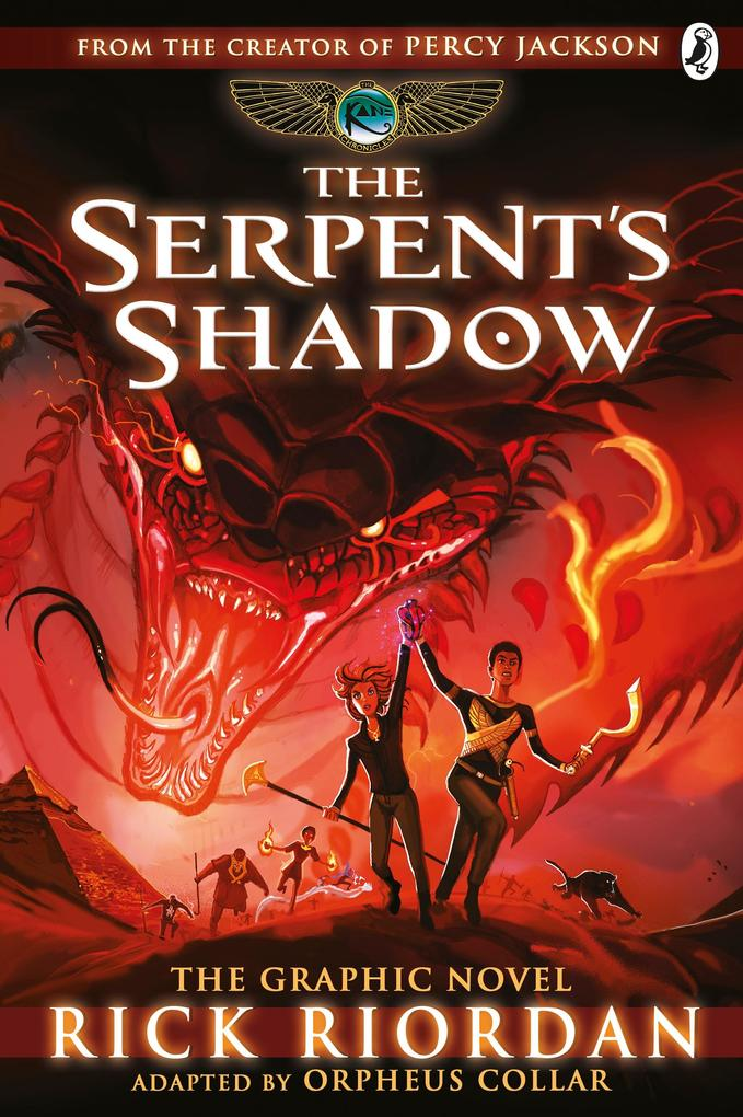 Serpent´s Shadow: The Graphic Novel (The Kane C...