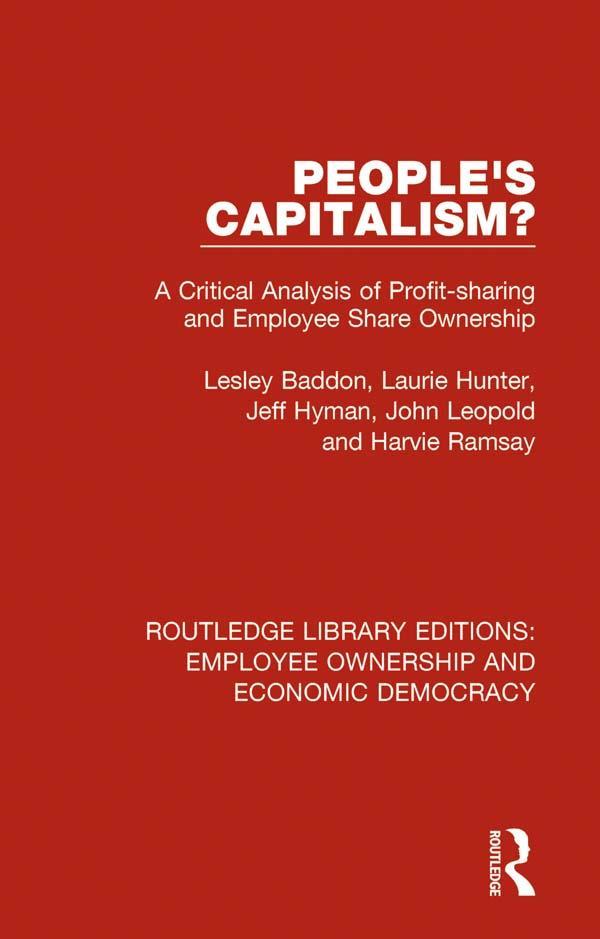 People´s Capitalism? als eBook Download von Les...