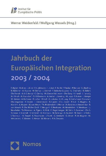 Jahrbuch der Europäischen Integration 2003/2004 als Buch (kartoniert)
