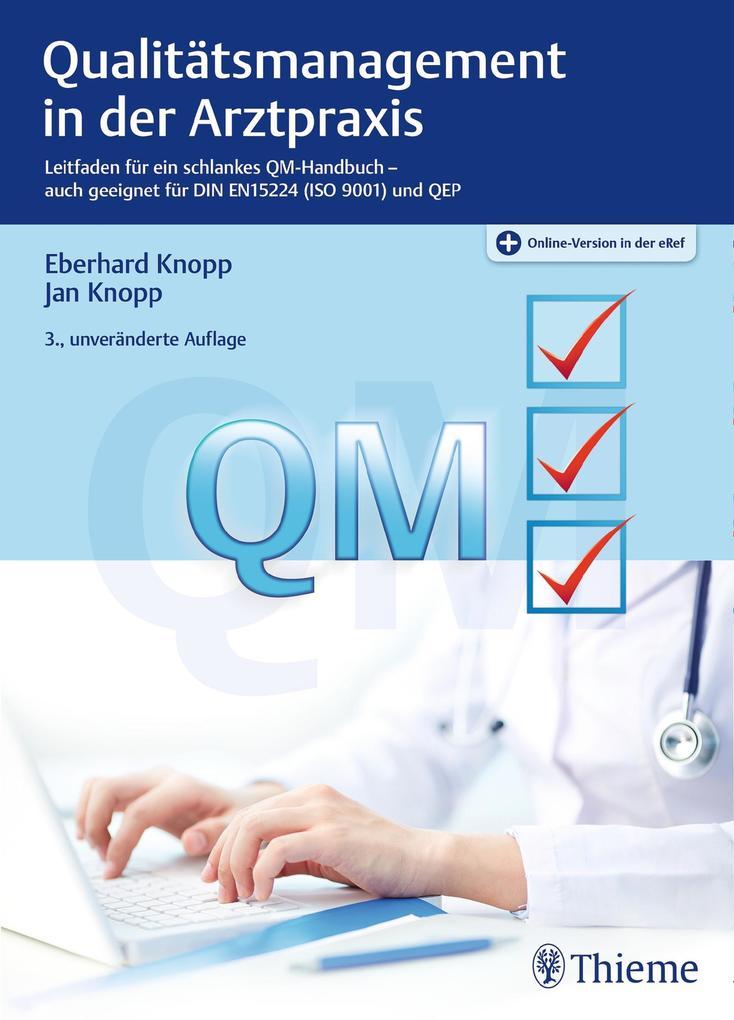 Qualitätsmanagement in der Arztpraxis als eBook...