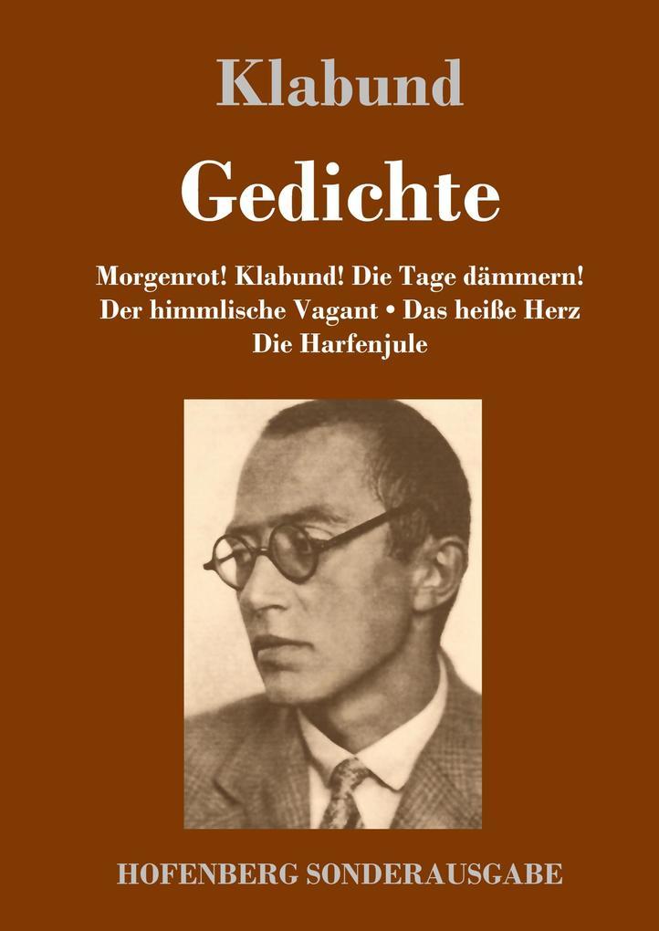 9783743720183 - Klabund: Gedichte als Buch von Klabund - Buch