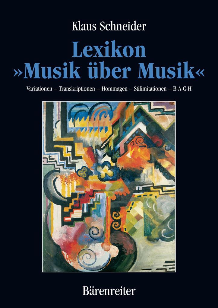 Lexikon Musik über Musik als eBook Download von...