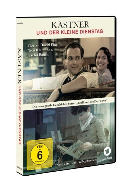 Kästner und der kleine Dienstag als DVD