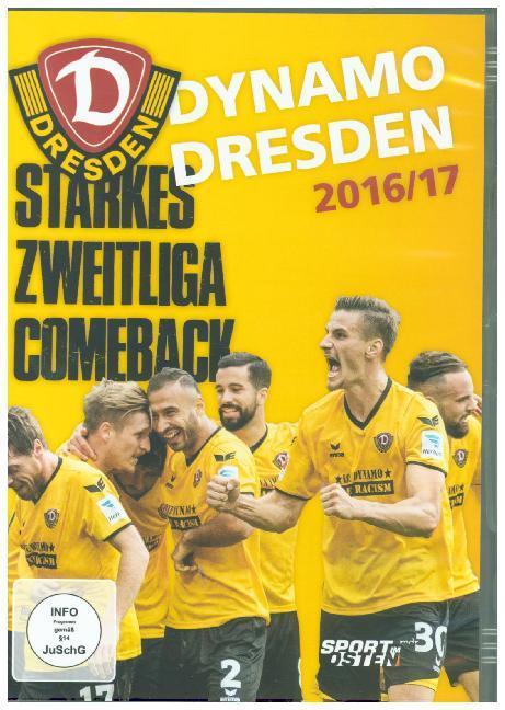 Dynamo Dresden 2016/17 - Starkes Zweitliga-Comeback