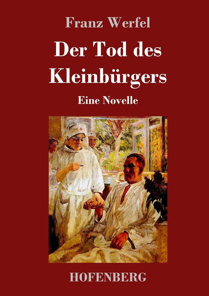 9783743720343 - Franz Werfel: Der Tod des Kleinbürgers als Buch von Franz Werfel - Buch