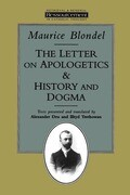 The Letter on Apologetics & History and Dogma
