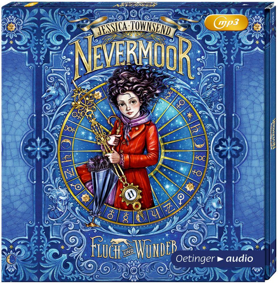 Nevermoor. Fluch und Wunder (2 mp3-CD) als Hörbuch