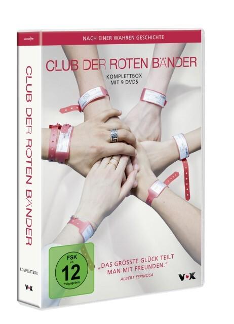 Club der roten Bänder - Komplettbox als DVD