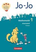 Jo-Jo Mathematik 1. Schuljahr - Allgemeine Ausgabe 2018- Arbeitsheft Fördern