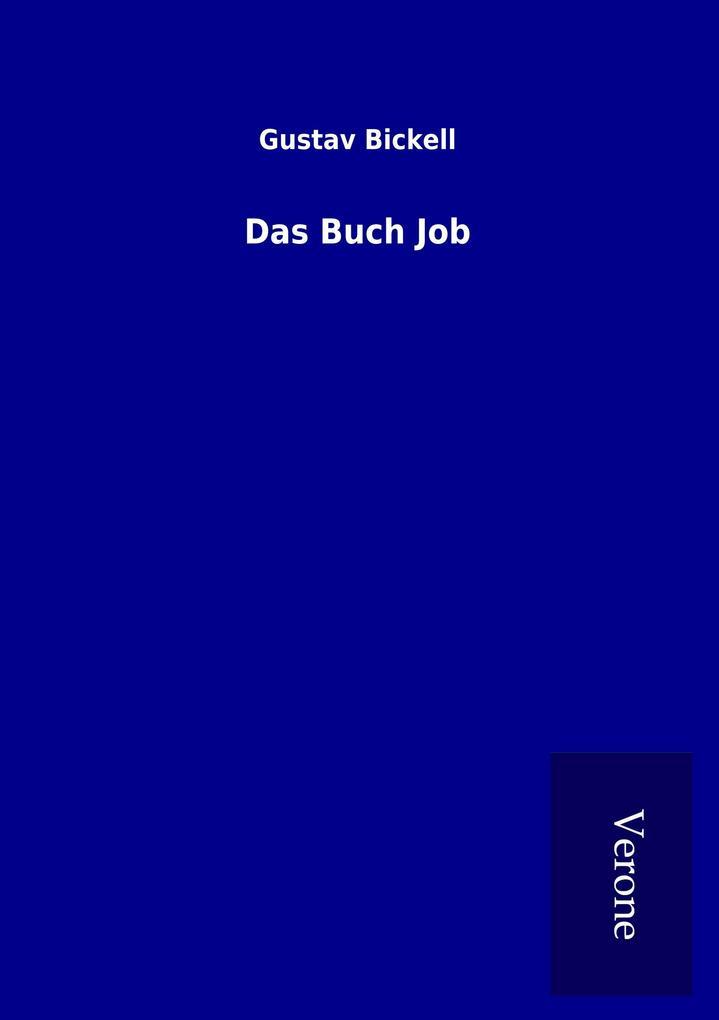 Das Buch Job als Buch von Gustav Bickell