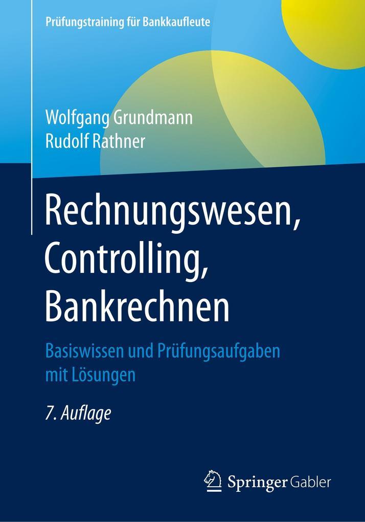 Rechnungswesen Controlling Bankrechnen Buch Wolfgang Grundmann