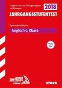 Jahrgangsstufentest Gymnasium Englisch 6. Klasse mit MP3-CD Bayern