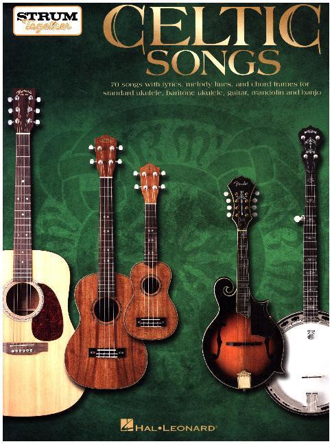 Celtic Songs, for Ukulele/Baritone Ukulele, Gui...