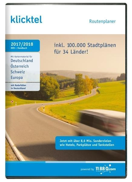 klickTel Routenplaner 2017/2018. Für Windows Vi...