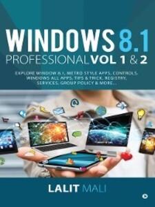 Windows 8.1 professional Volume 1 and Volume 2 ...