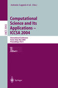 Computational Science and Its Applications - ICCSA 2004. Part 1
